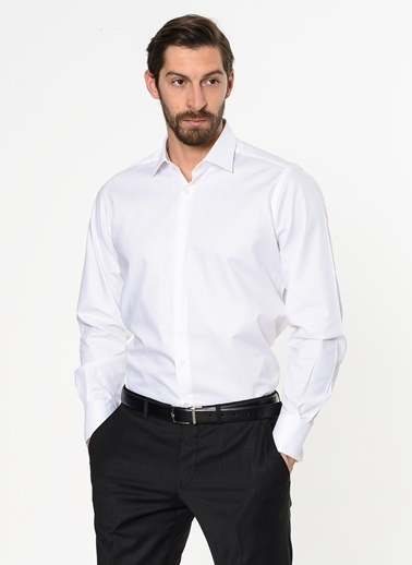 Daffari Uzun Kollu Klasik Gömlek Lacivert